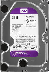 Жесткий диск Western Digital Purple 3TB 64MB 5400rpm WD30PURZ 3.5 SATA III