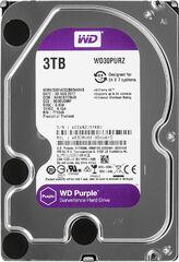 Жесткий диск Western Digital Purple 3TB 64MB 5400rpm WD30PURZ 3.5 SATA III