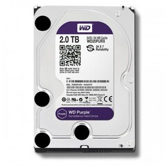 Жесткий диск Western Digital Purple 2TB 64MB 5400rpm WD20PURZ 3.5 SATA III
