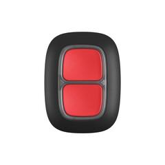 Кнопка Ajax DoubleButton черная